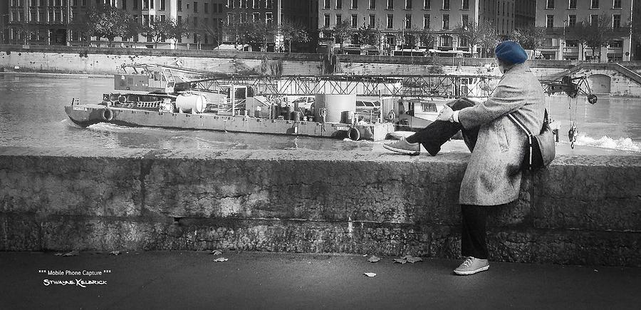 Iphone 4 Photograph - Positive Meditation On The River by Stwayne Keubrick