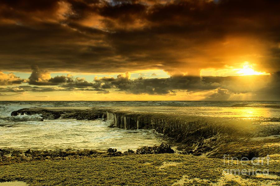 Beach Photograph - Positive Reinforcement by Andrew Paranavitana