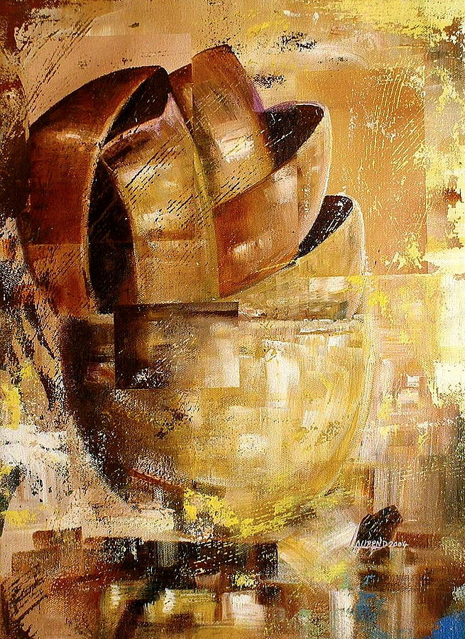 Still Life Painting - Possessions by Laurend Doumba