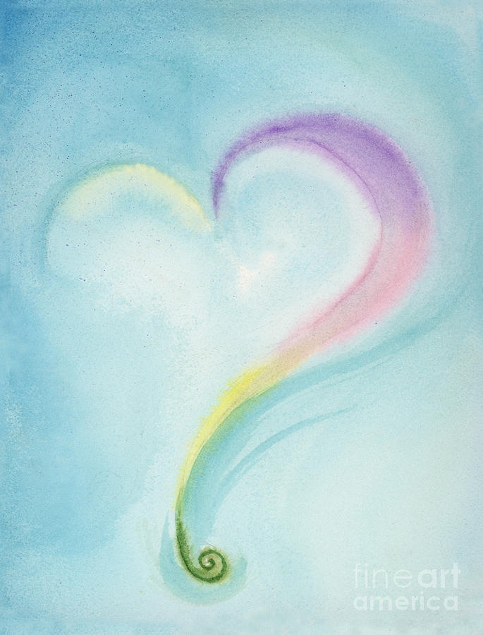 Watercolor Painting - Possibilities by L T Sparrow