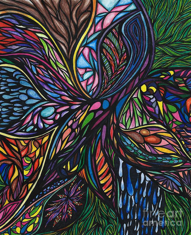 Jamie Lynn Drawing - Possibility by Jamie Lynn