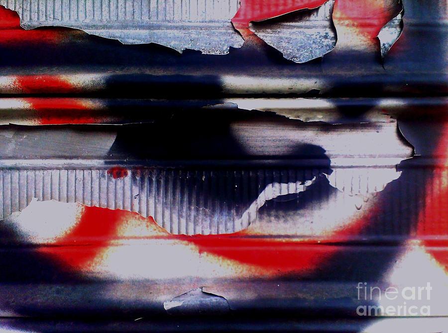 Post Graffiti Photograph By James Aiken