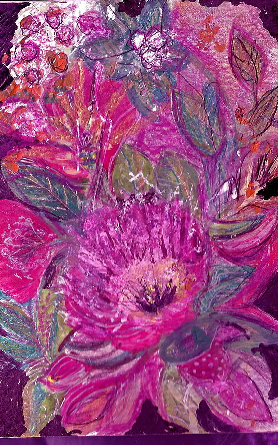 Pretty Painting - Postcard From Heaven by Anne-Elizabeth Whiteway