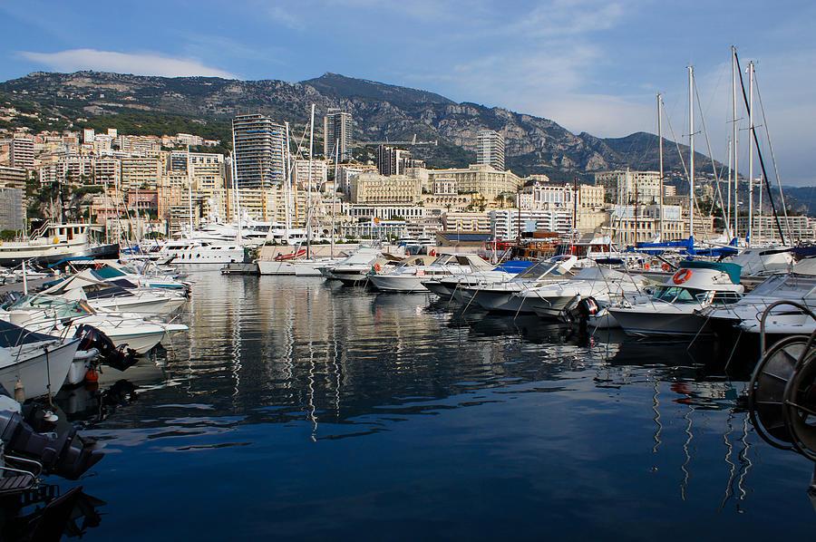 Postcard from Monaco by Georgia Mizuleva