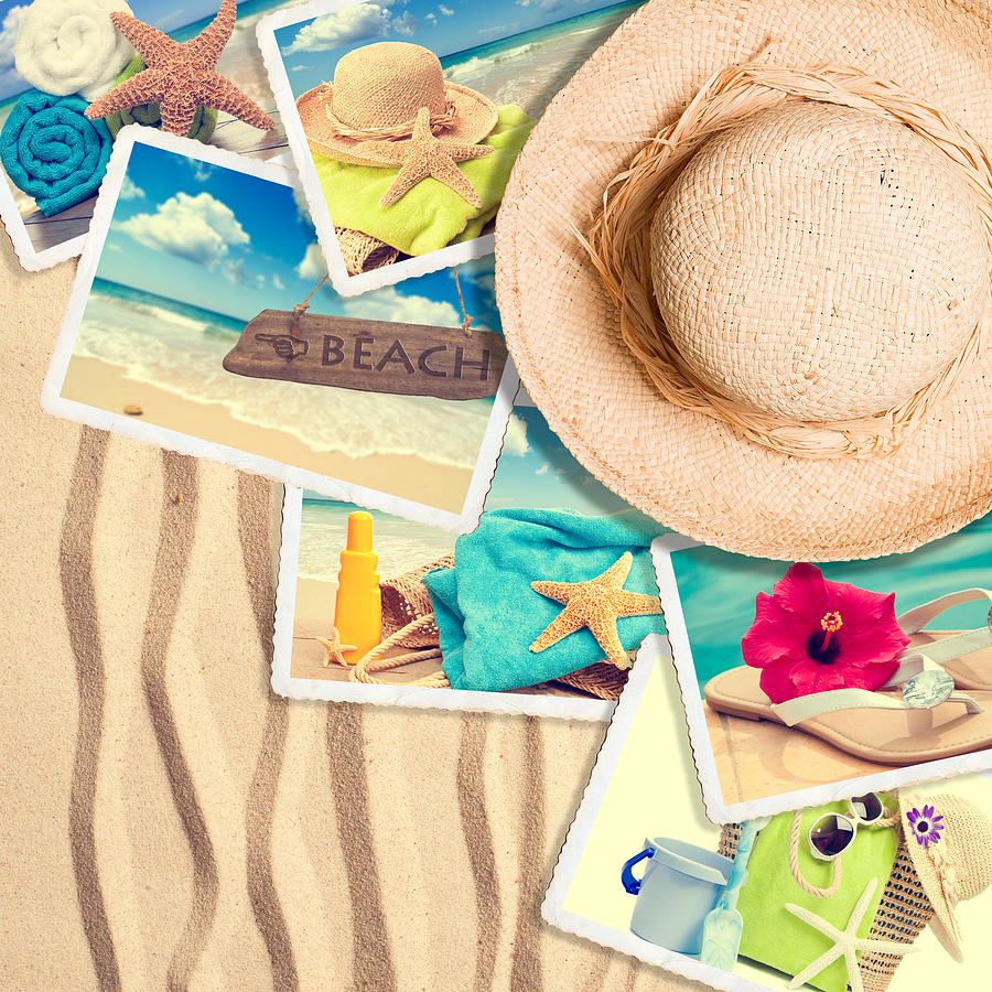 Sand Photograph - Postcards In The Sand by Amanda Elwell