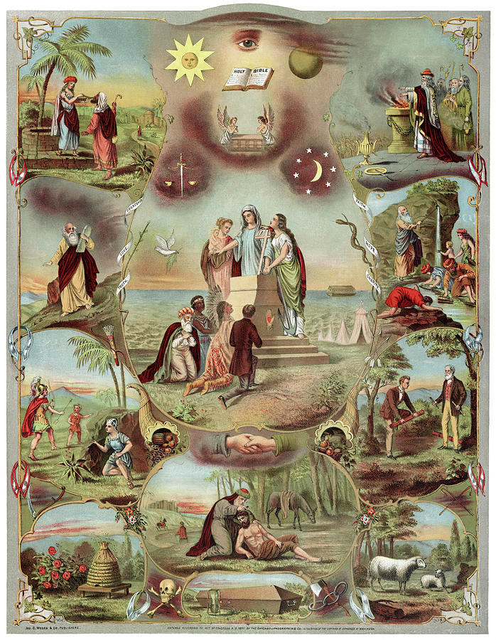 Poster Odd Fellows, C1871