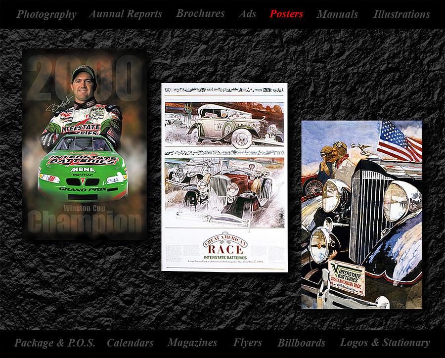 Posters Mixed Media by Gerald Lambert