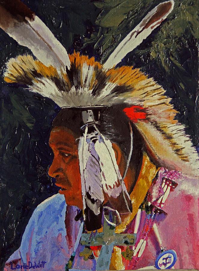 Kansas Painting - Potowatome by Lane DeWitt
