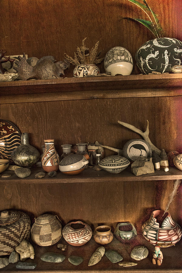 Indian Pots Photograph - Pots And Things by William Fields
