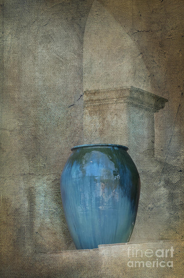 Vase Photograph - Pottery And Archways II by Sandra Bronstein