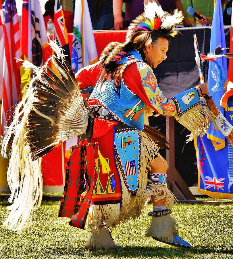Natives Photograph - Pow Wow by Al Fritz