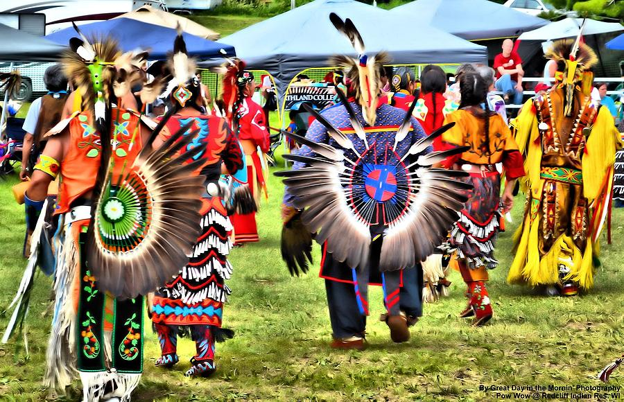 Native American Photograph - Pow Wow At Redcliff by Michelle and John Ressler