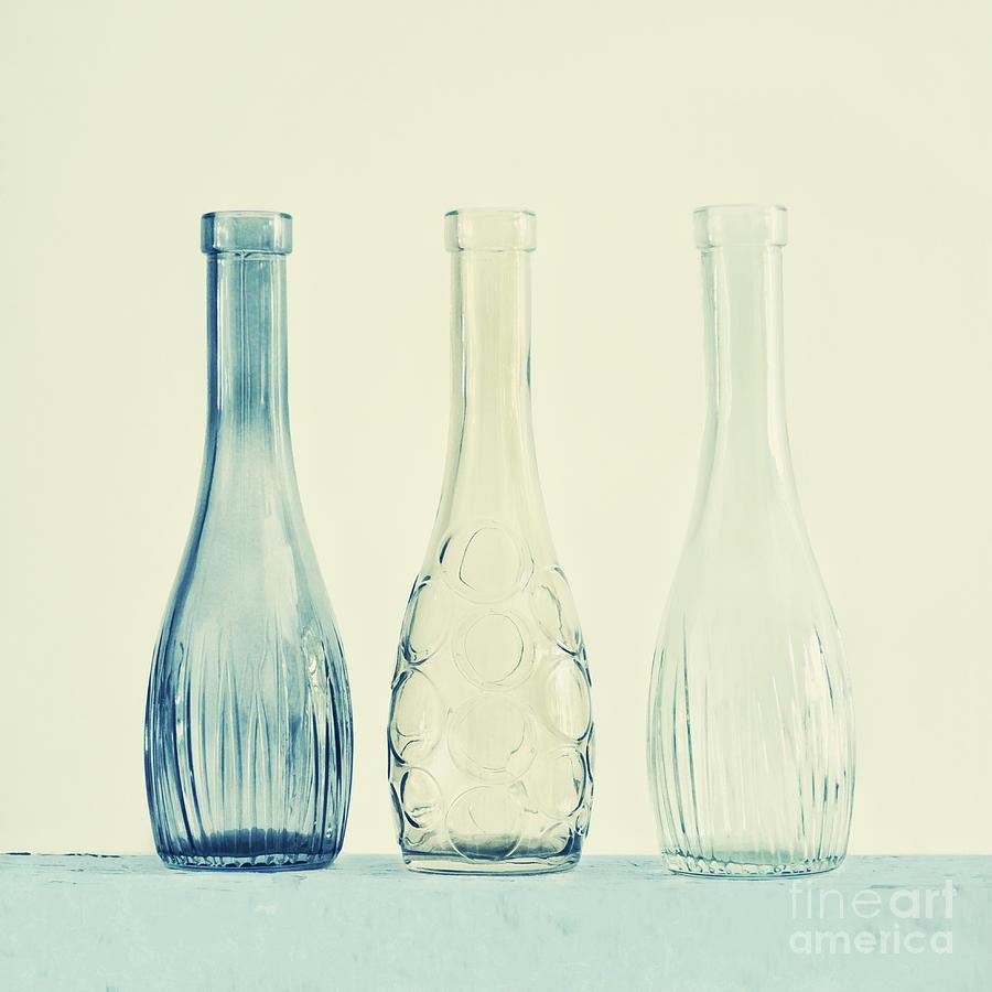 Simplicity Photograph - Powder Blue by Priska Wettstein