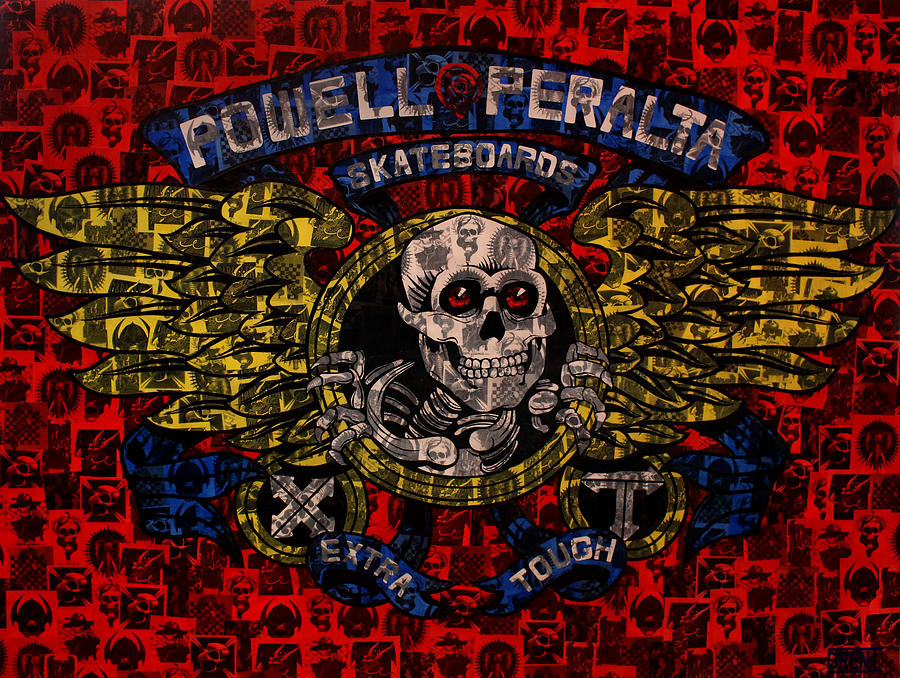 Powell Peralta Painting - Powell Peralta by Brent Andrew Doty