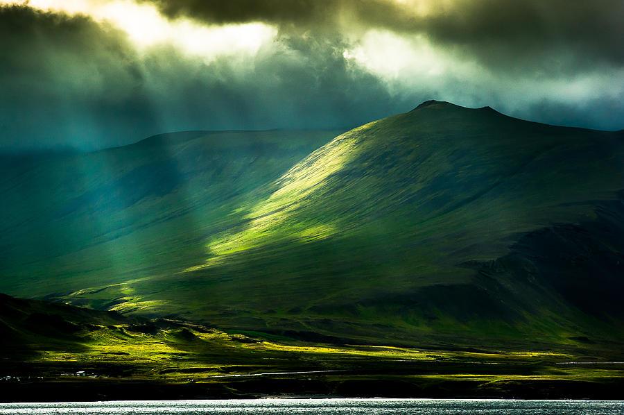 Iceland Photograph - Power Of Light by Greg Wyatt