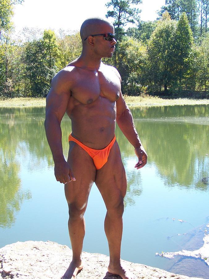Bg East Wrestling Photograph - Power Of Muscle by Jake Hartz
