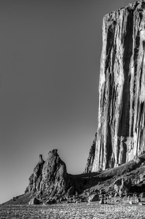 America The Beautifu Photograph - Power Of Stone by Bob Christopher