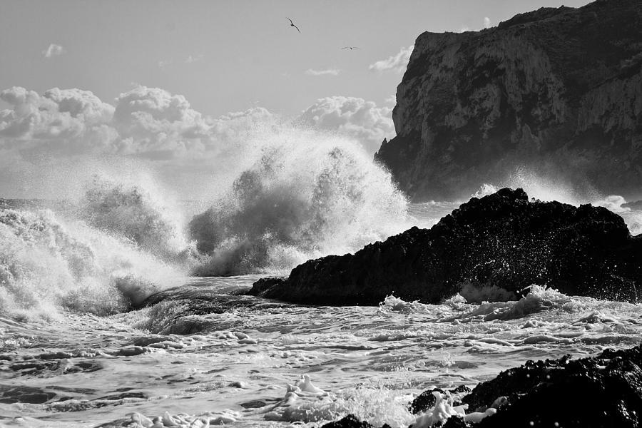 Sea Photograph - Power Of The Sea by Herbert Seiffert