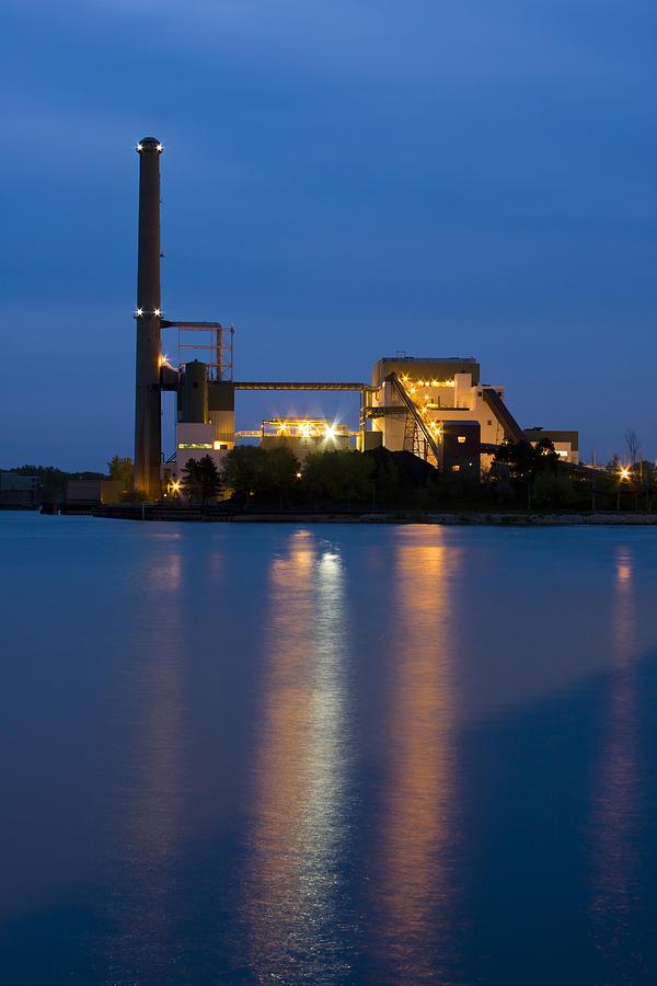 Architecture Photograph - Power Plant by Adam Romanowicz