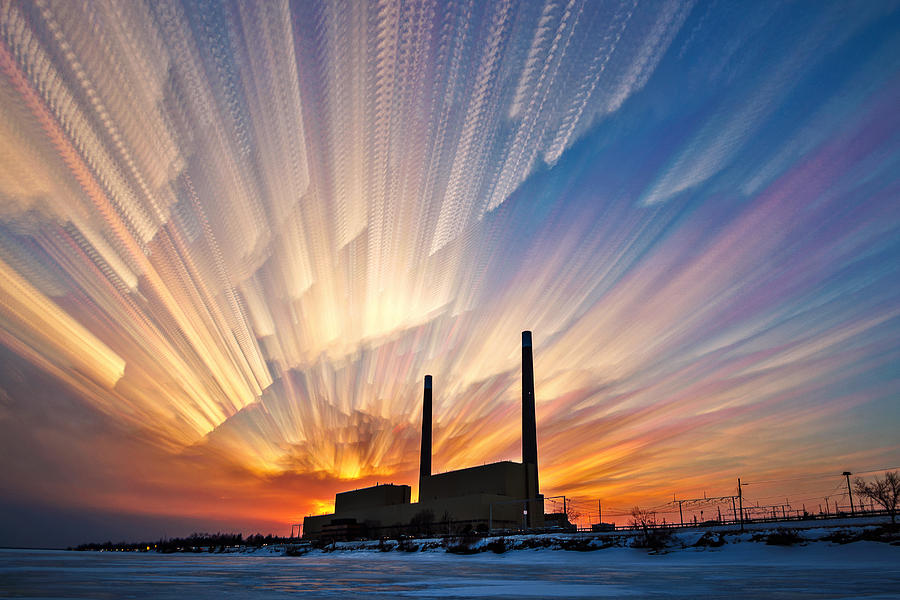 Matt Molloy Photograph - Power Plant by Matt Molloy