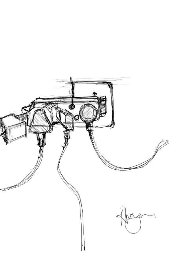 Electricity Digital Art - Power Plug by Khaya Bukula