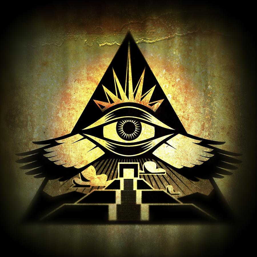 Third Eye Digital Art - Power Pyramid by Milton Thompson