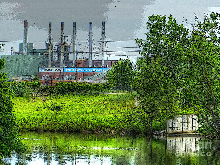 Michigan Photograph - Powertrain by MJ Olsen
