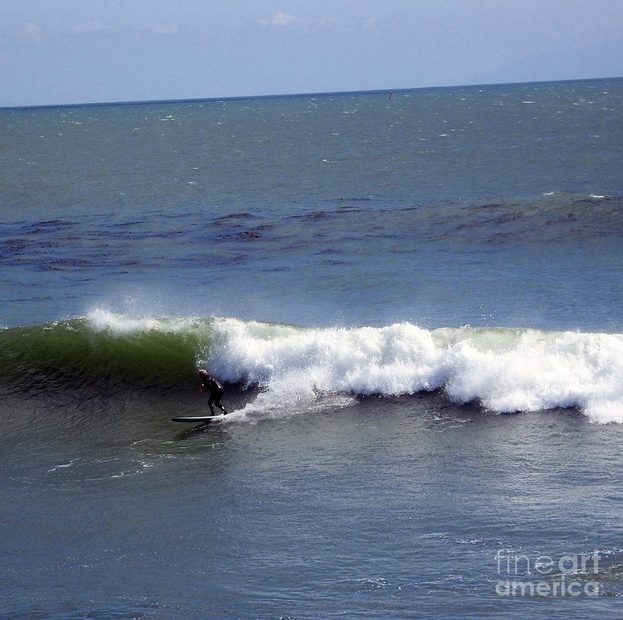 Landscape Photograph - pr 128 - Surfer Dude by Chris Berry