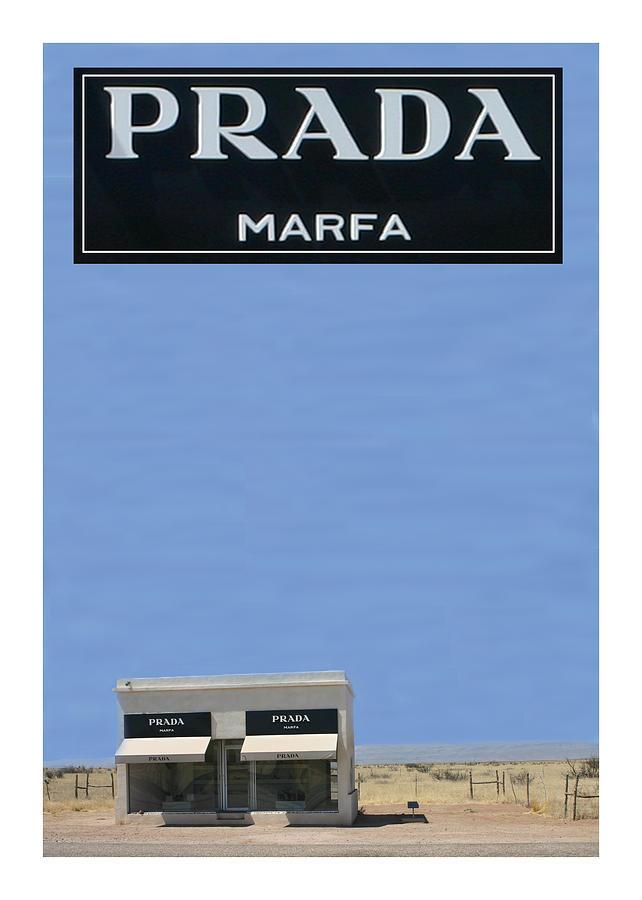 Texas Photograph - Prada Marfa Texas by Jack Pumphrey