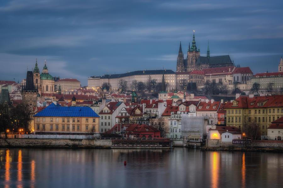 Prague Castle Dawn Photograph