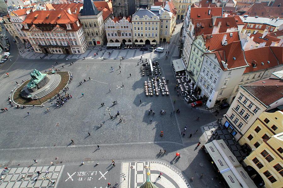 Prague Old Town Square Photograph by J.castro