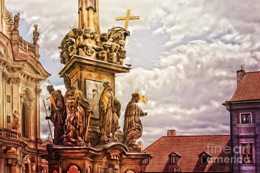 Prague St. Nicholas Church Photograph