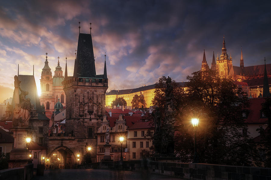 Prague Photograph - Prague Sun. by Juan Pablo De