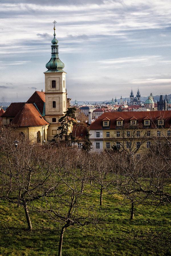 Joan Carroll Photograph - Prague View From The Gardens by Joan Carroll