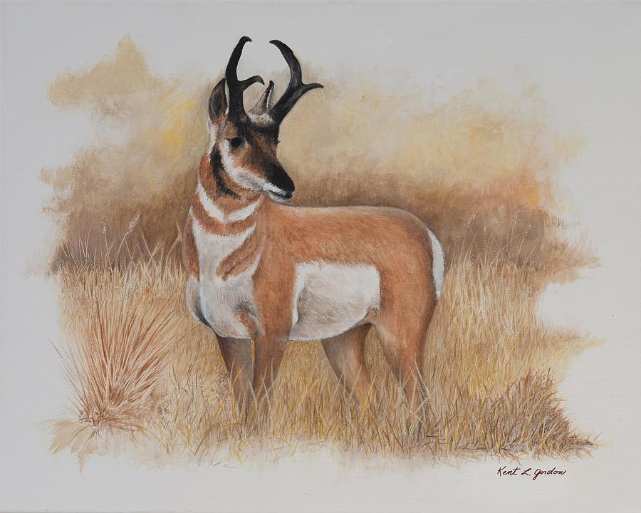 Wildlife Painting - Prairie Prince  by Kent L Gordon