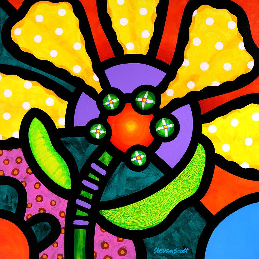Prairie Sunflower Painting