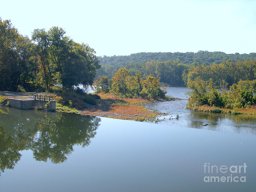 Stockton Photograph - Prallsville Mill by Addie Hocynec