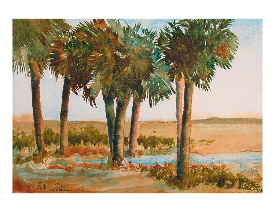 Prarie Palms II by Peter Senesac