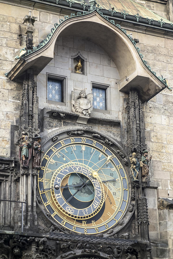 Prauge Clock Tower Photograph
