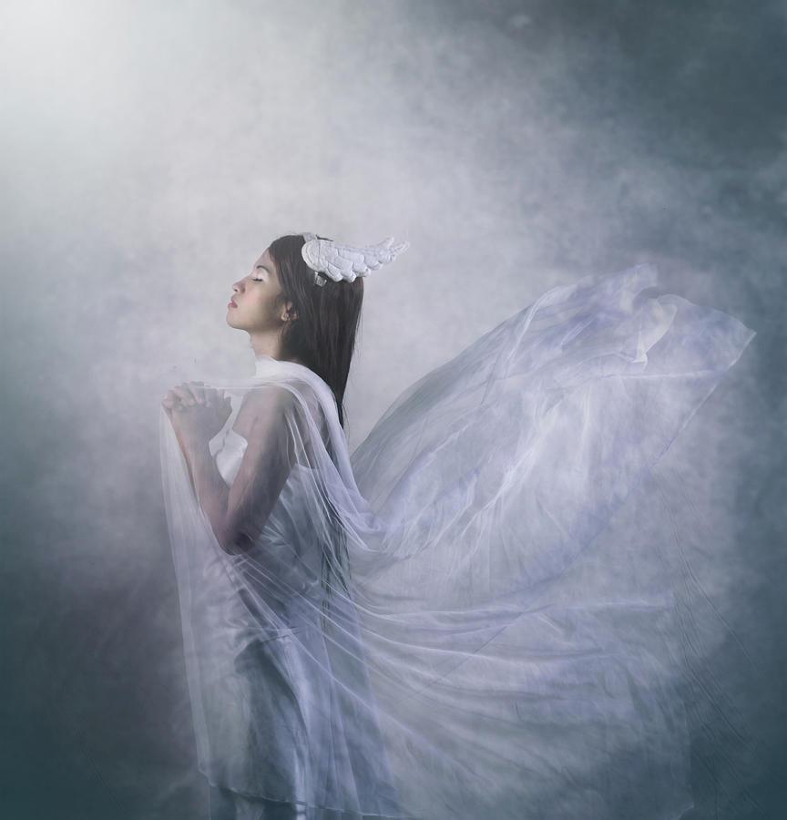 Mood Photograph - pray Of Angel by Ryanholy