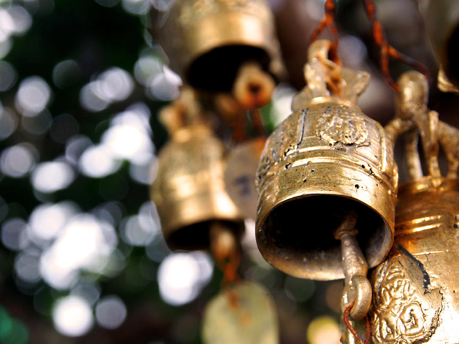 Prayer Photograph - Prayer Bells by Kaleidoscopik Photography
