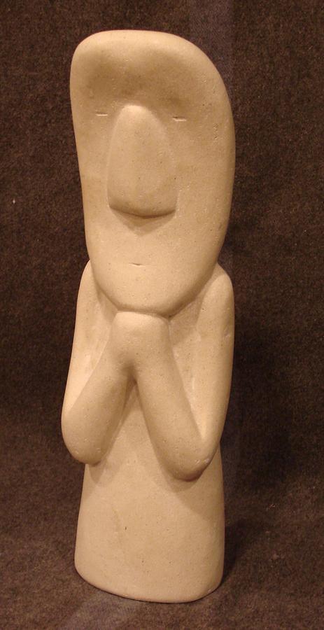 Prayer Sculpture - Prayer by Steve Mouche