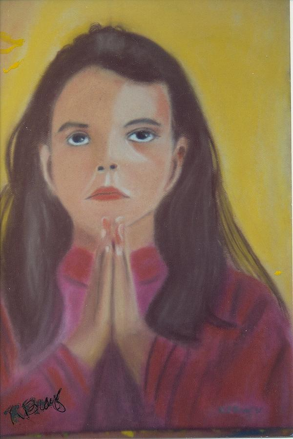 On Paper Painting - Prayer Time by Robert Bray