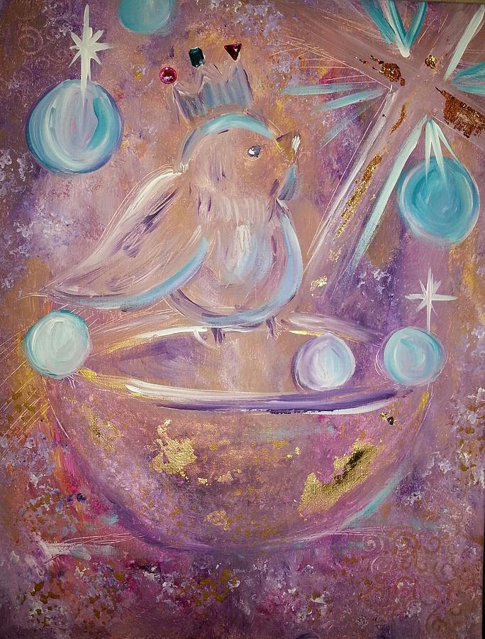 Whimsical Painting - Prayers Of The Saints by Gena Garcia-Alford