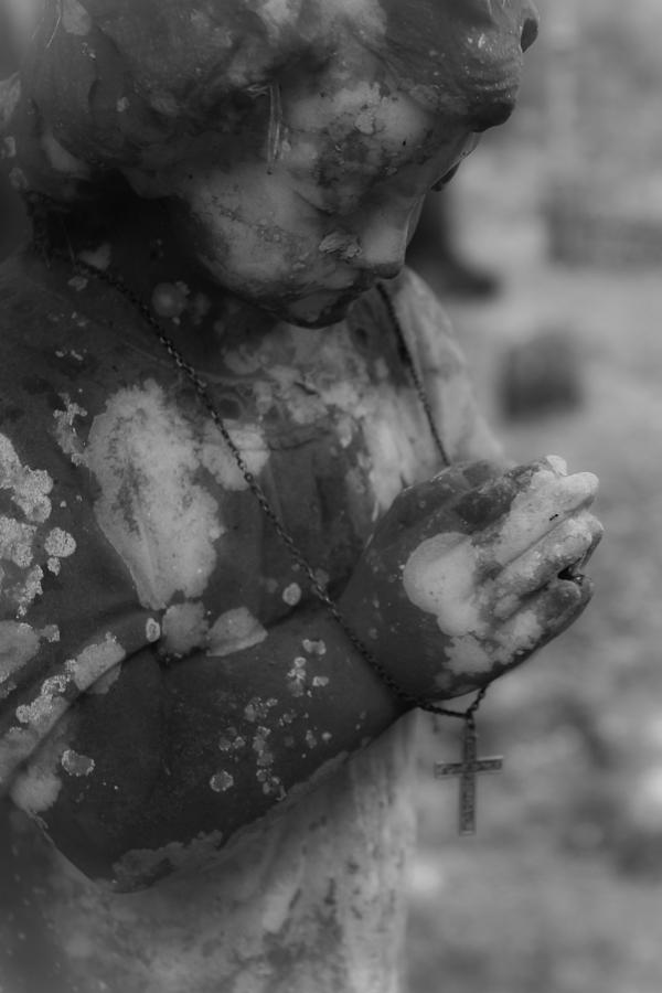 Angel Photograph - Praying Angel by Jennifer Burley
