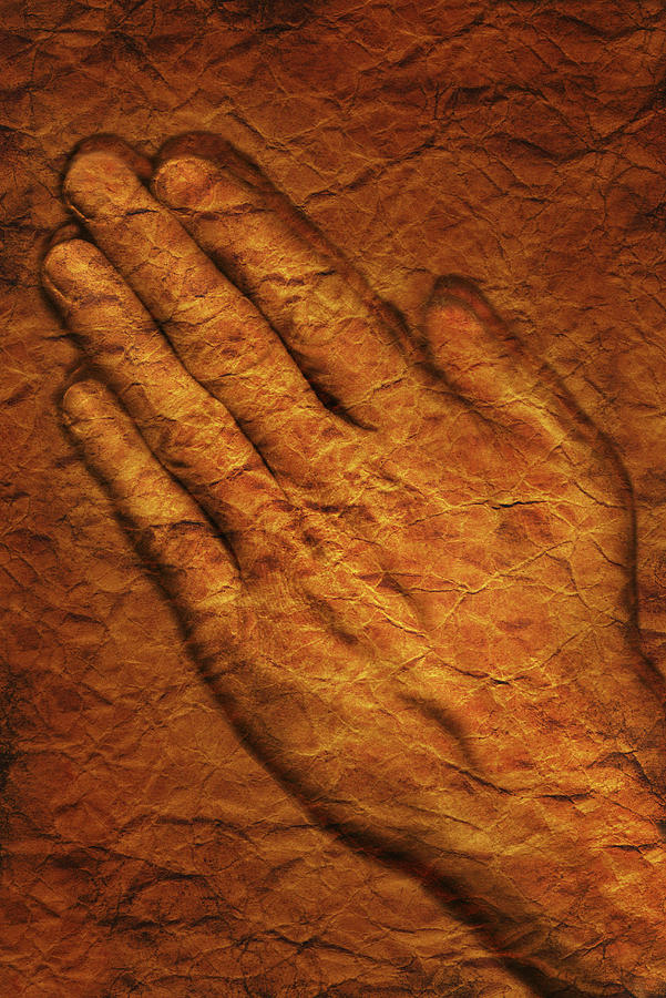 Artwork Photograph - Praying Hands by Don Hammond
