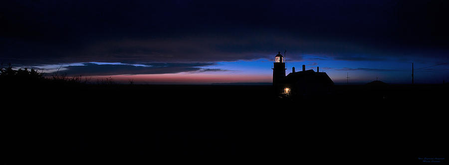 Pre Dawn Light Panorama at Quoddy by Marty Saccone