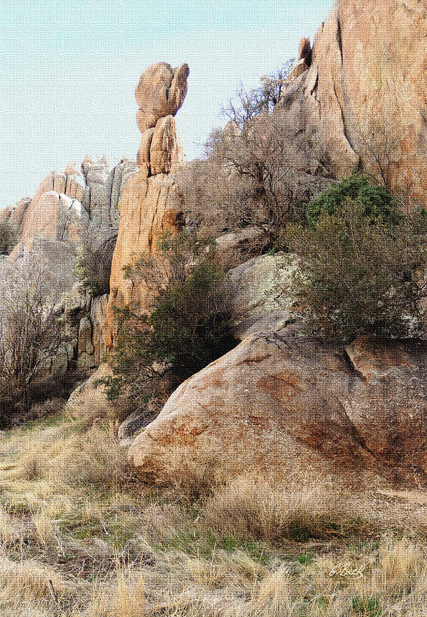 Prescott Photograph - Precarious by Gordon Beck
