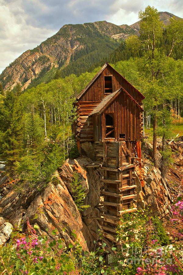 Crystal Colorado Photograph - Precarious Perch by Adam Jewell