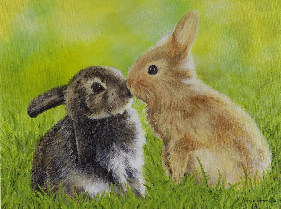Famous Bunny Painting